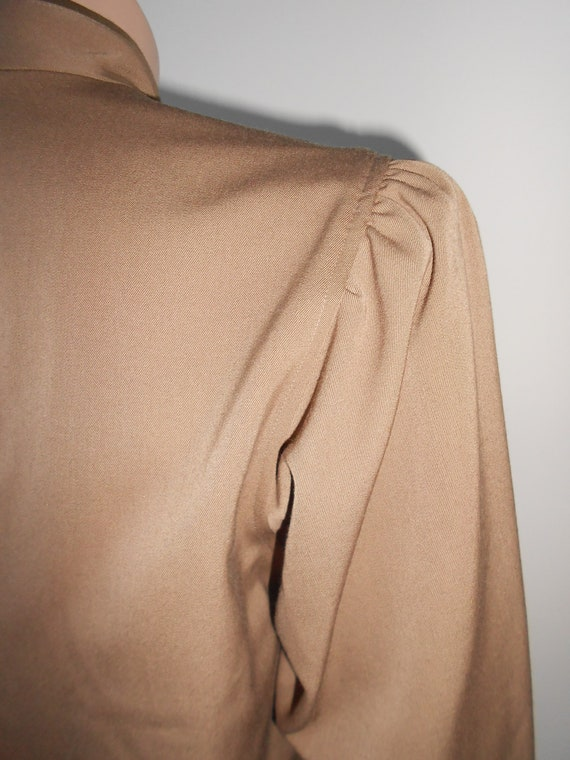 Vintage Kenzo : short female camel wool jacket, s… - image 8