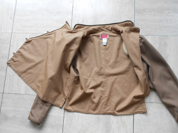 Vintage Kenzo : short female camel wool jacket, s… - image 6