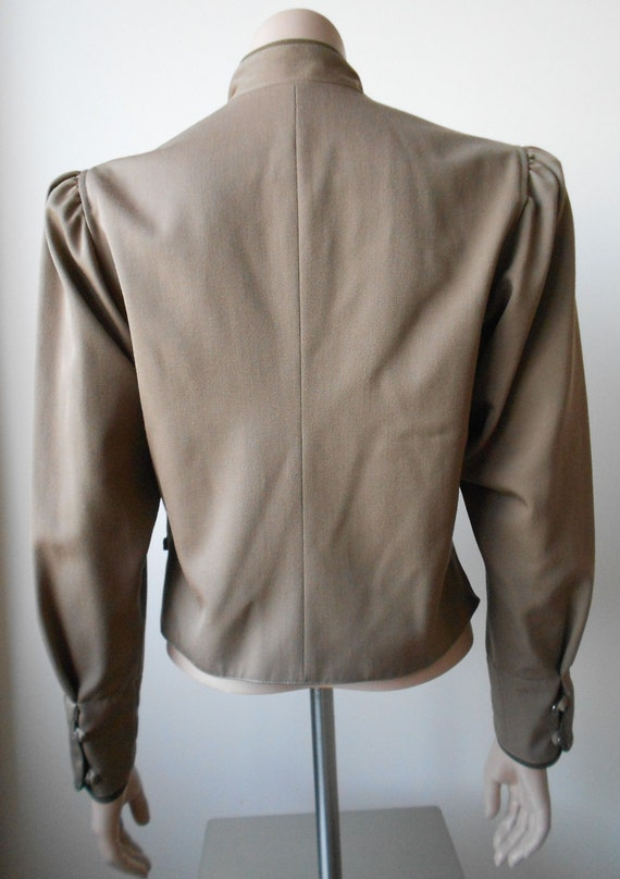 Vintage Kenzo : short female camel wool jacket, s… - image 5