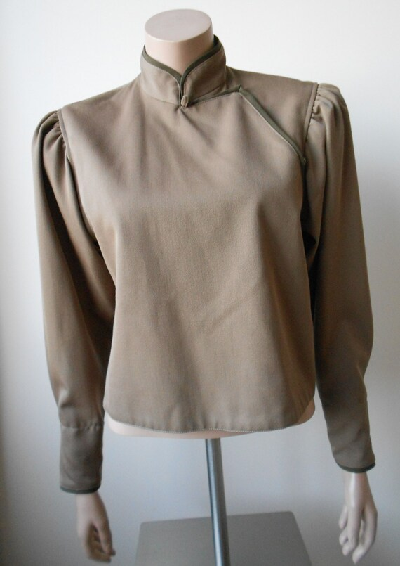 Vintage Kenzo : short female camel wool jacket, s… - image 2