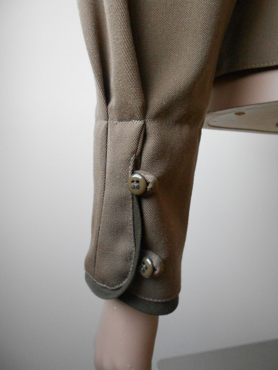 Vintage Kenzo : short female camel wool jacket, s… - image 7
