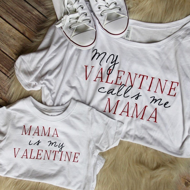 2ad07839cb8304 Mommy and me valentines shirt Matching valentines shirt mom