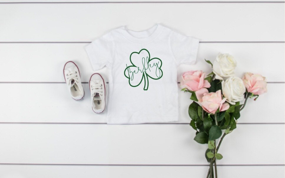 feea1afe St patricks shirt girls, st patricks day outfit, green, shamrock, lucky  shirt ...