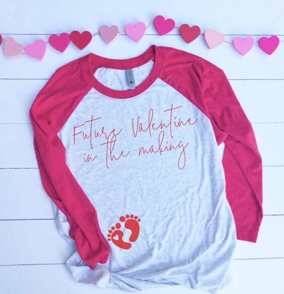 e99ecb9735b36 Love Maternity Shirt Valentine's Day Maternity Shirt Love Valentine ...