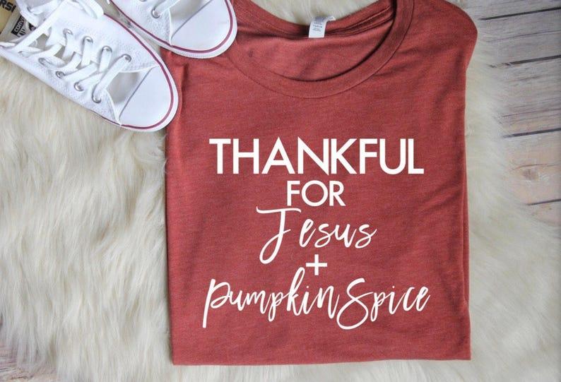 946199b7 Pumpkin Spice Shirt // Women's Fall Shirts Christian   Etsy