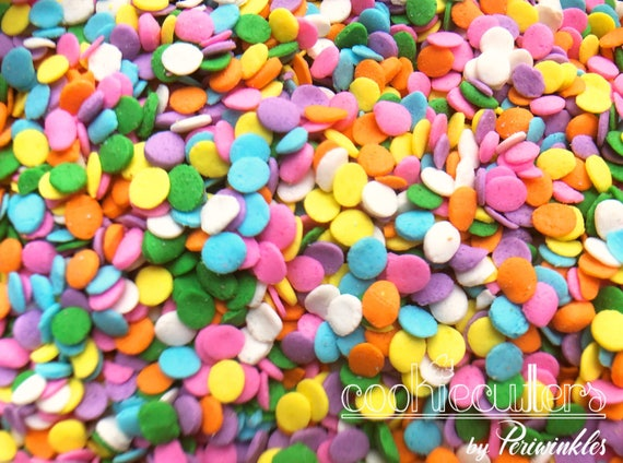 Fall autumn sprinkle mix -- Fall colors and leaves -- 2 oz