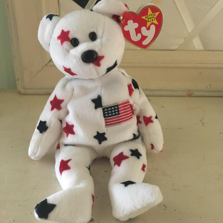 TY Glory Beanie Baby bear  2fbba95e3f0