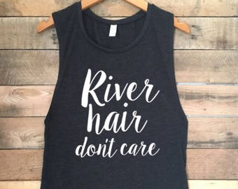 River Hair Dont Care Tank Top