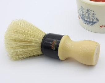 Oversized! Vintage 30mm Omega Boar Bristle Shaving Brush Pura Setola Made in Italy