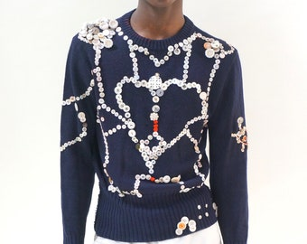 Pearly Angel sweater