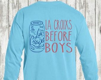 a8ac29d528ec5e Lagoon Blue La Croixs Before Boys T-Shirt