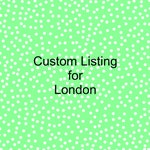 Custom Listing for London Requested Masks and Custom Masks