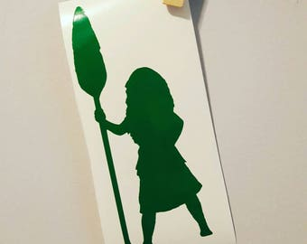 Moana Car Decal Moana Decal Moana Sticker Disney Car Decal Disney Decal Disney Sticker Disney Moana Disney Princess