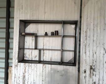 Industrial furniture steel shelves