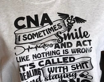 c337205cc089 Funny cna shirt