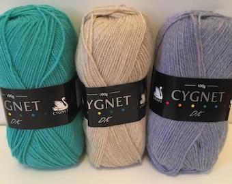 Granny square crochet kit