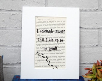 graphic about Marauders Map Printable Pdf referred to as Marauders map print Etsy