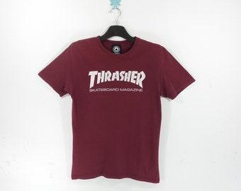 2e22a1630e43 Thrasher T-Shirt VINTAGE Thrasher Skateboard Magazine Mens Size S