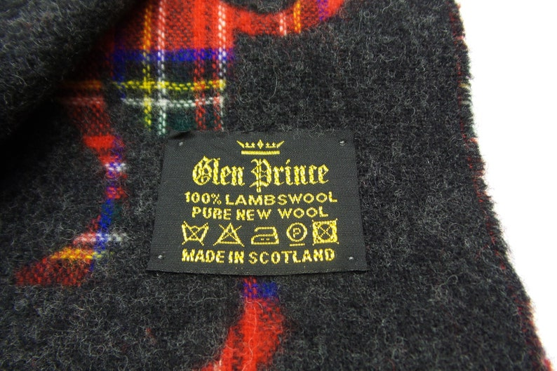 75f11248fb8e Glen Prince Muffler VINTAGE Glen Prince Of Great Britain Check
