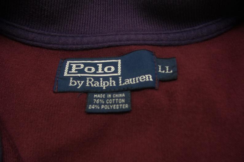 Éclair Taille Ll Veste Chine Fabriqué Fermeture Polo Vintage Ralph Homme Lauren Pour En tsrhCQdx