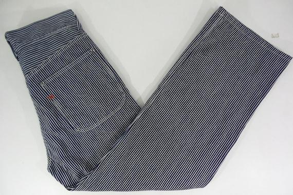 45rpm Pants W29xL27.5 VINTAGE 45rpm Blue Cafe Hick