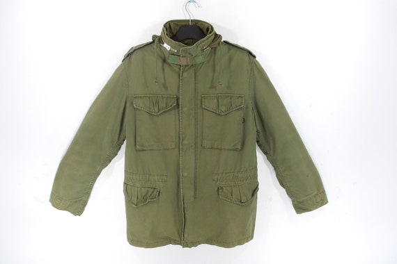 Alpha Industries Jacket VINTAGE Alpha Industries M