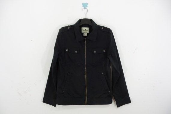 Woolrich Jacket VINTAGE Woolrich Black Zipper Jack