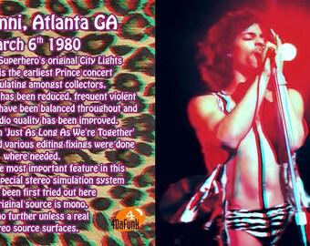 Prince Atlanta 1980 CDR (Rick James Support)