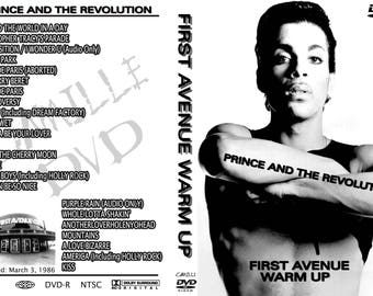 Prince First Avenue Warm Up Parade 1986 2DVD set Amazing!!