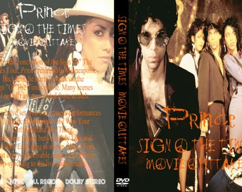 Prince Sign O' The Times Movie Outtakes 2DVD Rare!!