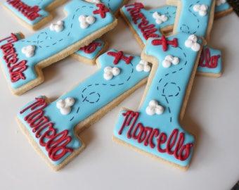 Custom First Birthday Cookies! (MINIMUM QUANTITY 12)