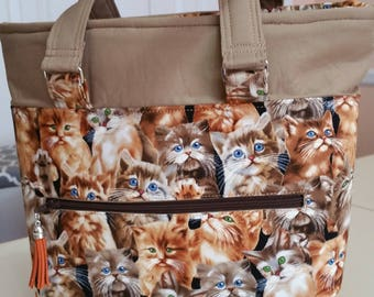 More than Enough Kitties Purse (made in the USA by the Chesapeake Bay)