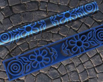 Flower Power Digital Download 3D Printable Pen Blank