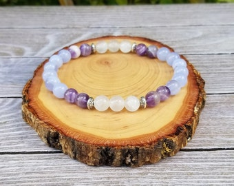 Protection Bracelet - Calming, Aura Protection, Negative Energy Protection, Psychic Protection