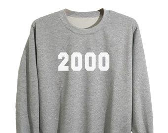 24ac6292 19th birthday shirt, birthday sweatshirt jumper, men women birthday gift, birthday  t shirt, personalized birth year shirt size S M L