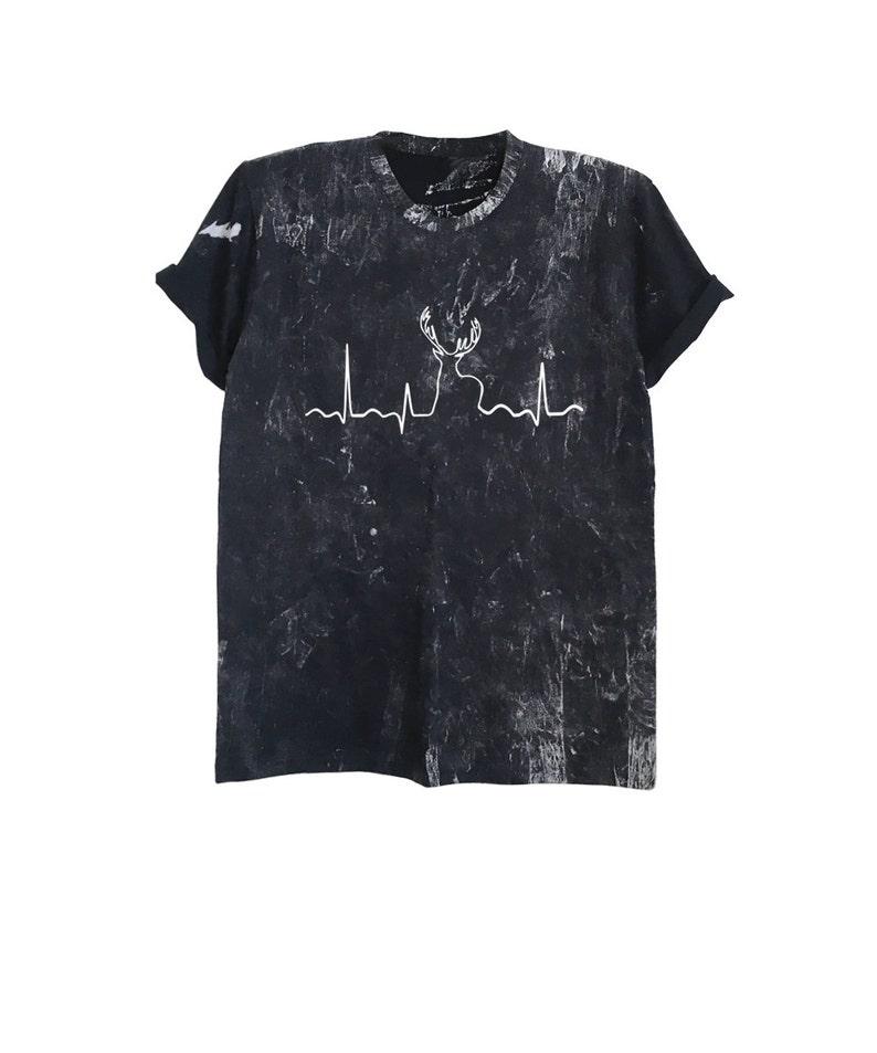 1455d7e18 Hunting shirt hunting heartbeat deer shirt tie dye tshirt | Etsy