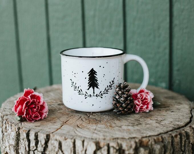 Farmhouse Ceramic Camp Mug Candles/Essential Oil Candle/Farmhouse Candle/Pineapple Sage/Sparkling Pomelo/Lavender and Chamomile