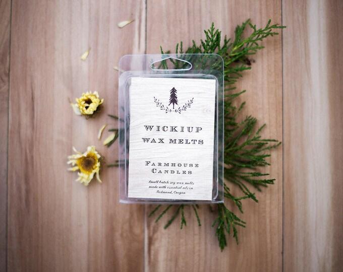 Farmhouse Oregon Sage Wax melt, Fresh Lemon Wax melt// Timberline, Simply vanilla  Wax Melt//Wickiup wax melt//Soy wax//Essential oils