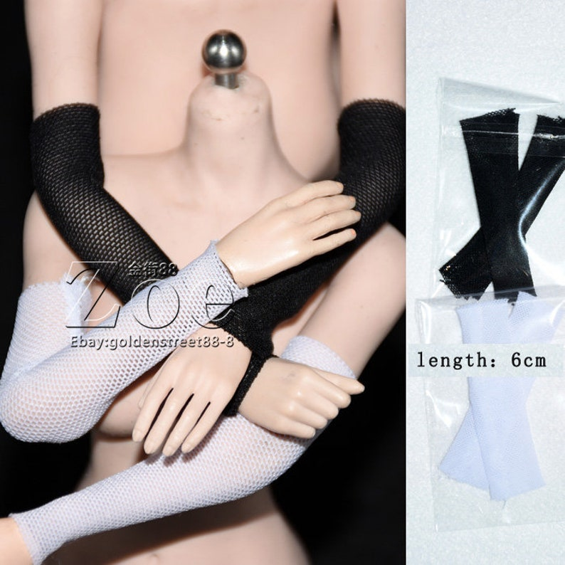 1 pair 1//6 scale arm sleeve for phicen TBLeague JIAOU DOLL hottoys verycool