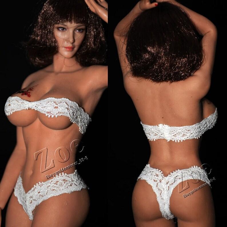 ef4dd668dd2 Sexy white underwear For tbleague phicen female doll