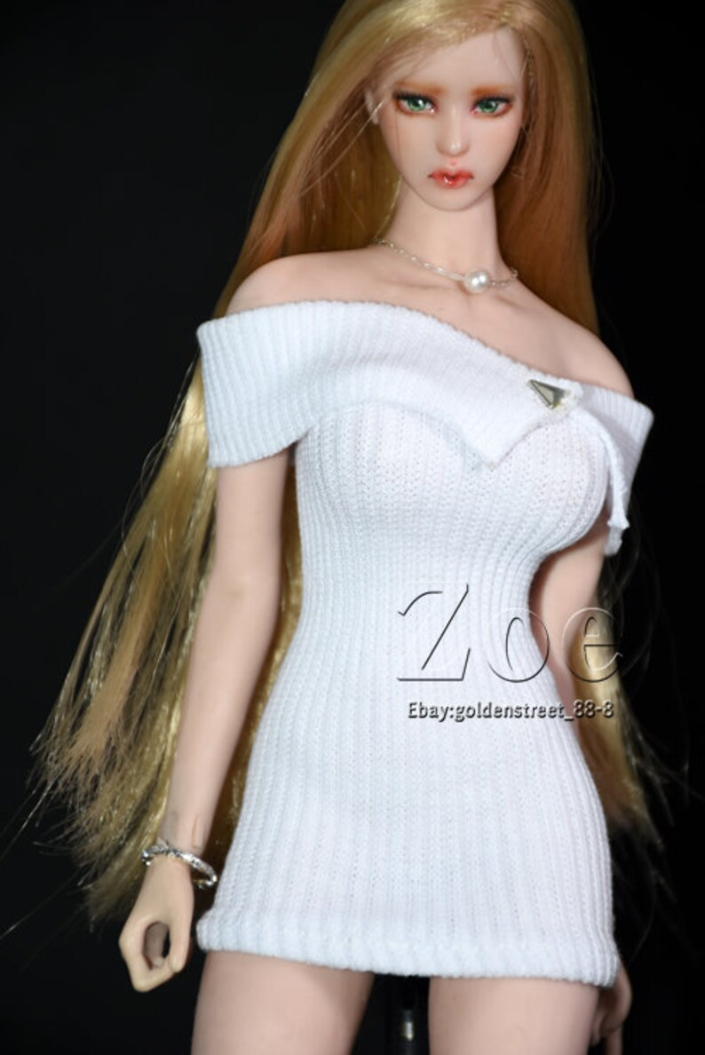 1//6 TBLeague phicen tight dress FOR  jiaoudoll hot toys NO STAIN