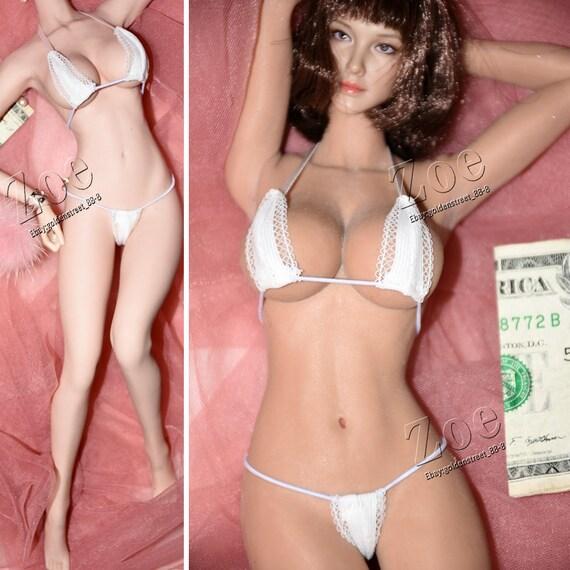 11f0ef4930f ZOE DOLL 1 6 Sexy White Underwear Swimming Wear For 12