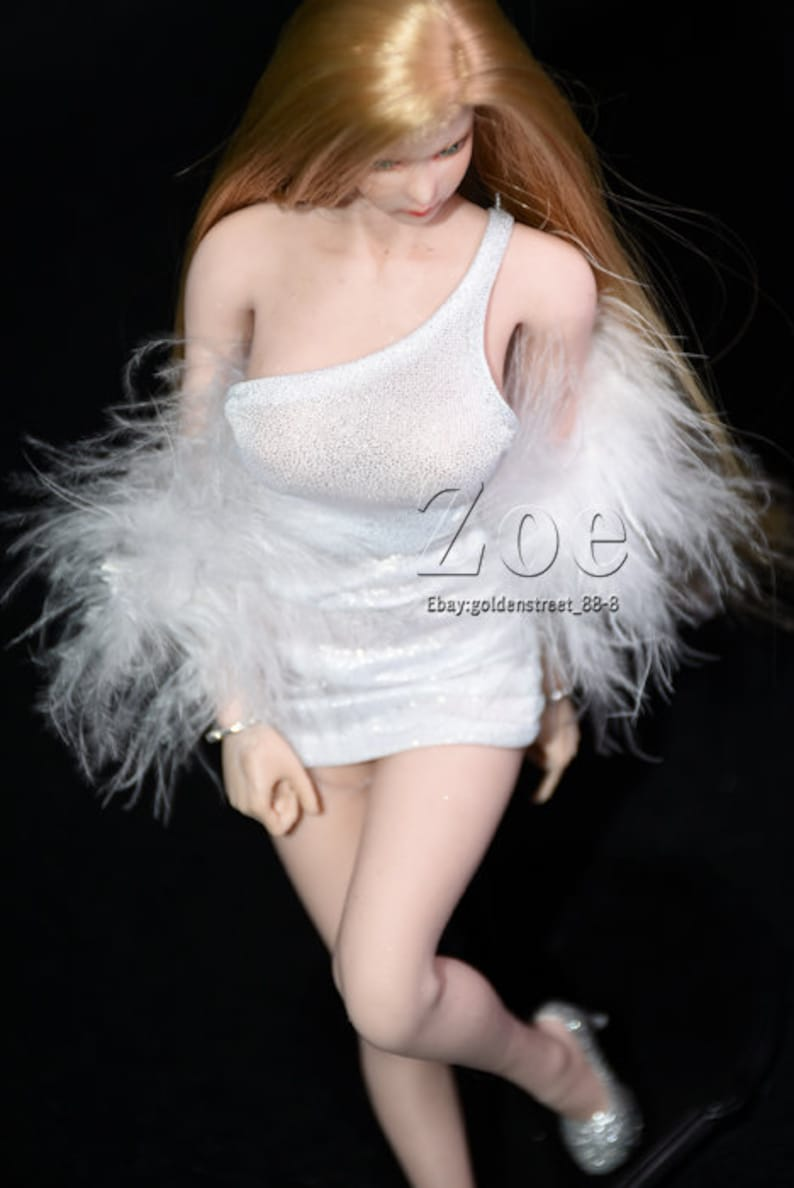 clothes only 1//6 scale clothes phicen TBleague tight dress for jo doll