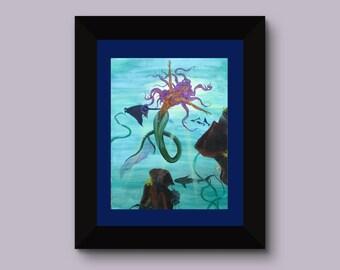 Joyous Depths, Fine art print