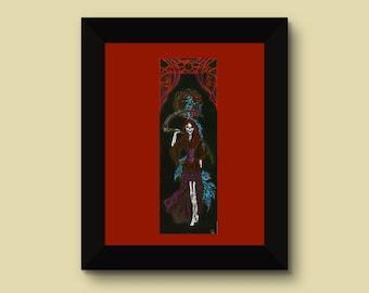 House of the Setting Sun, Fine art print