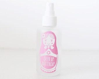 100ml Cheer up Decal // vinyl decal // essential oil // vinyl labels // custom labels // oil labels // doterra // essential oil bottle