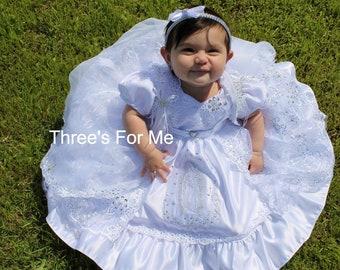Vestido de Bautizo  baptism dress