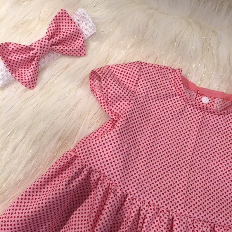 Sweetheart Valentine's Day Baby Dress