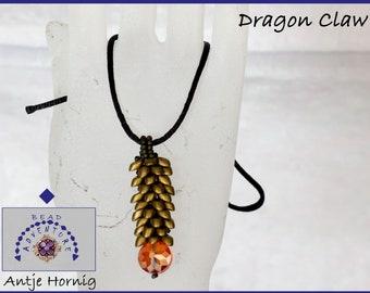 Dragon Claw, Kit, Anhänger, Anleitung und Material
