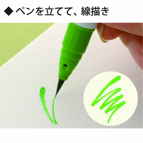 Kuretake ZIG Real Brush Pen Clean Color 60 Set RB-6000AT//60V Japan SHIP FREE